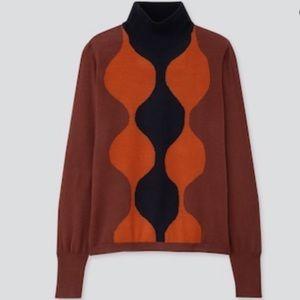 Uniqlo marimekko turtle neck sweater xs